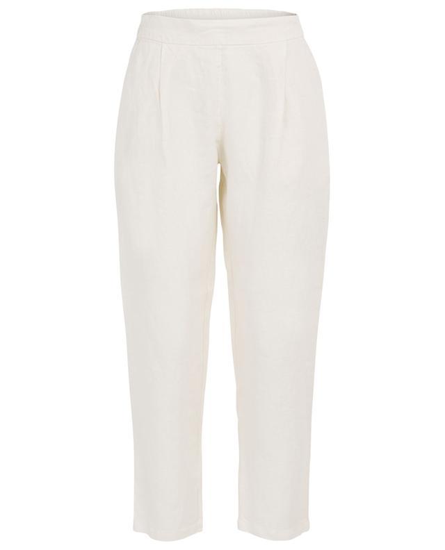Pantalon 7/8 en lin 120% LINO