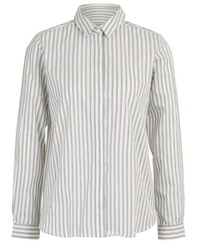 Chemise ample rayée en coton mélangé Fionetta ARTIGIANO