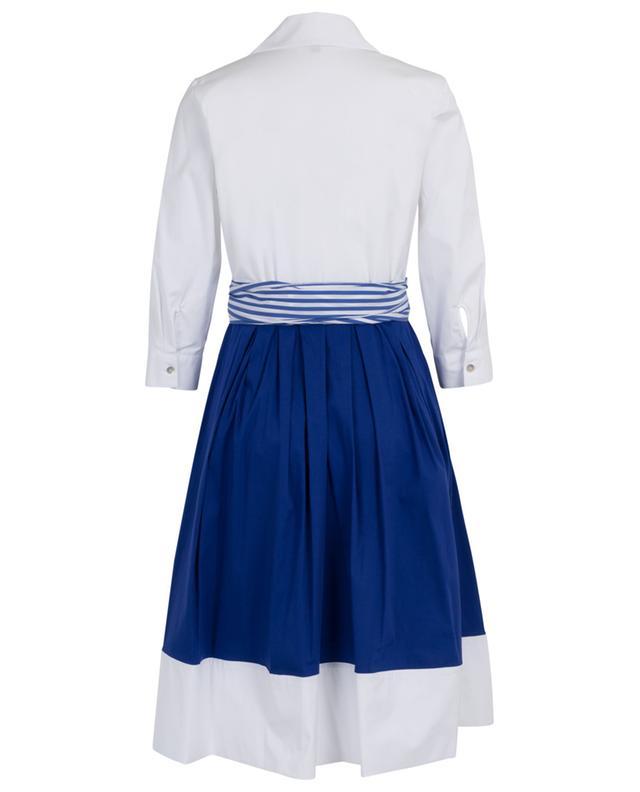 Robe chemise portefeuille bicolore LA CAMICIA