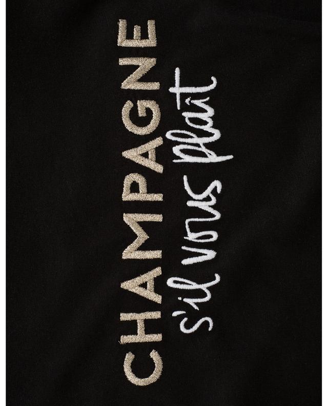Robe sans manches en coton et modal Champagne SVP QUANTUM COURAGE