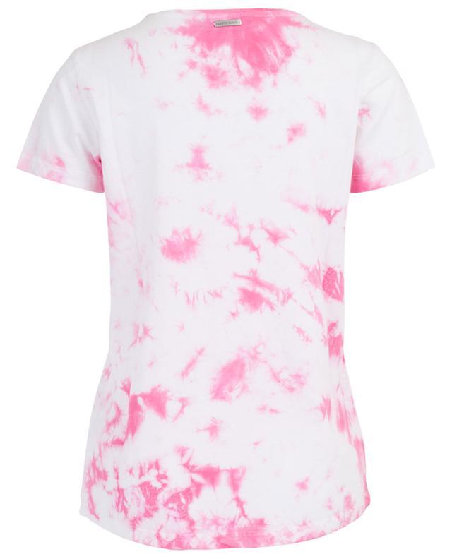 T-shirt en coton mélangé effet batik QUANTUM COURAGE
