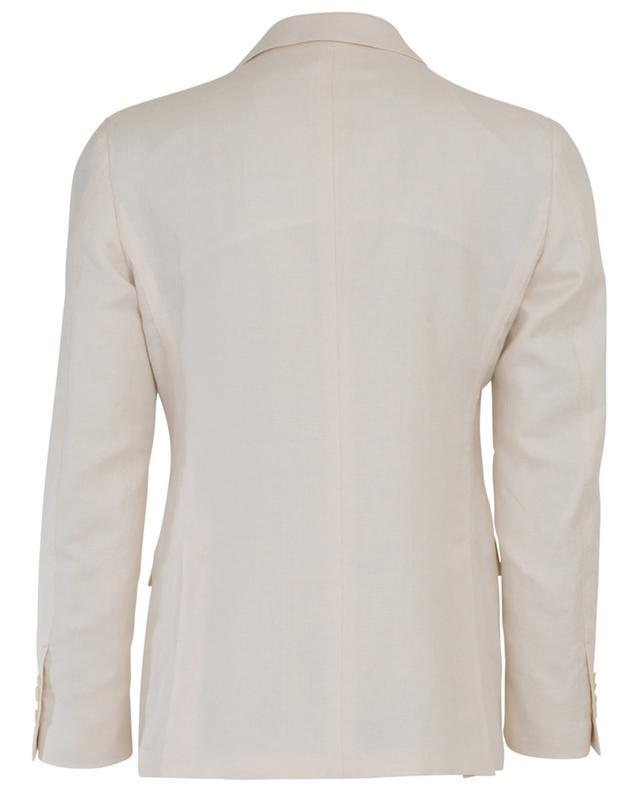 Costume en soie, lin et coton Drop 7REG LARDINI