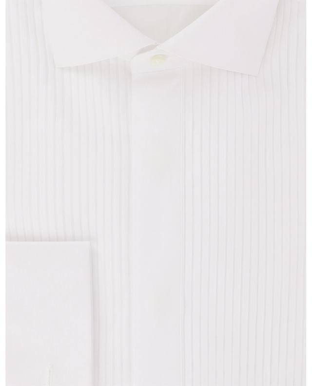 Chemise à plastron en coton Fabio LUIGI BORRELLI