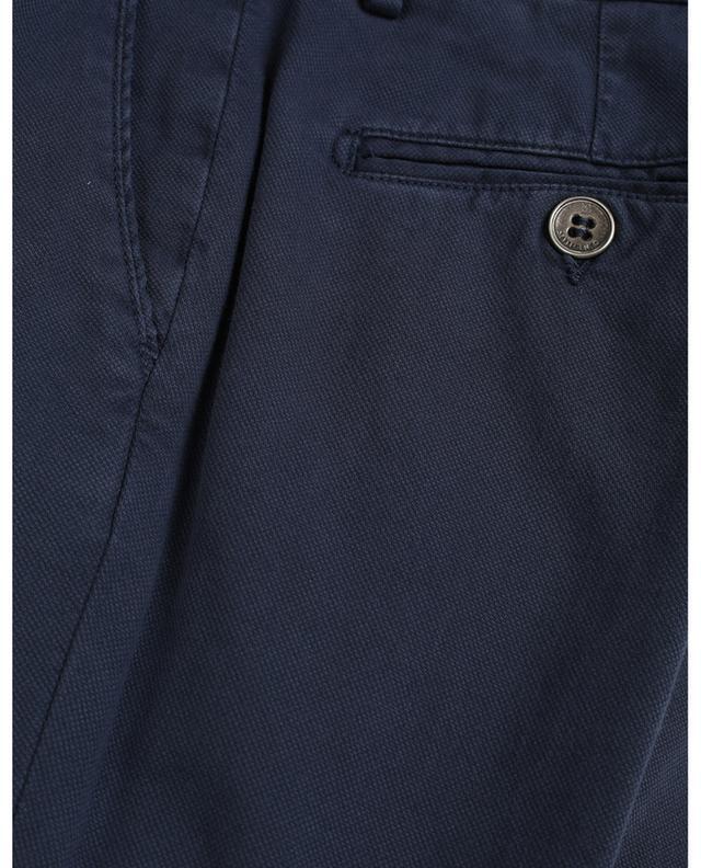 Pantalon fuselé en coton stretch B SETTECENTO