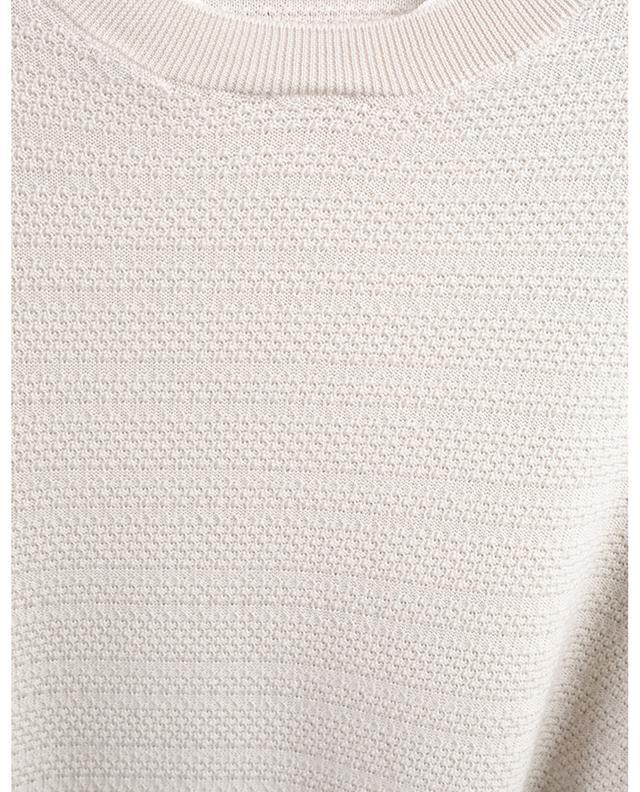 Textured wool jumper ERMENEGILDO ZEGNA