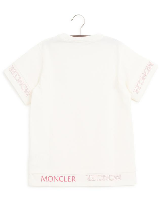 Jersey-T-Shirt im Lagenlook mit Logoprint MONCLER