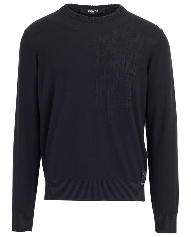 FENDI Pullover aus Baumwolle mit Logo Bongénie Grieder