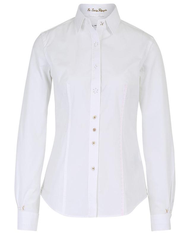 Hemd aus Baumwollmix mit Steppnähten LE SARTE PETTEGOLE