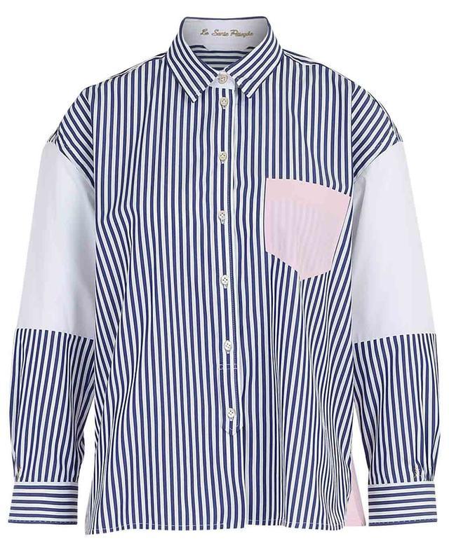 Gestreiftes Hemd aus Popeline LE SARTE PETTEGOLE