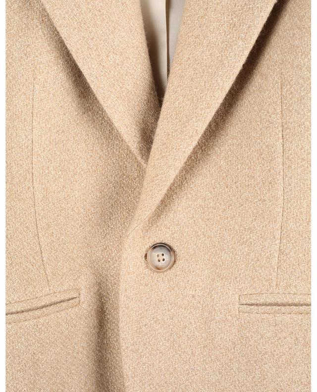 Blazer cintré à boutonnière simple en laine brossée POLO RALPH LAUREN