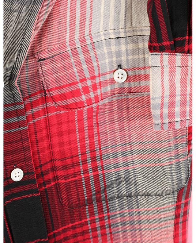 Robe chemise longue évasée en flanelle à carreaux POLO RALPH LAUREN