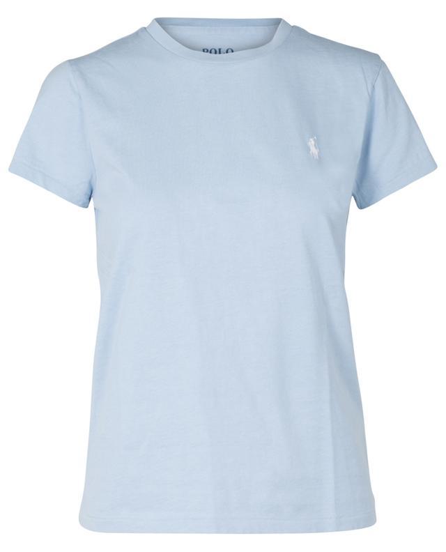 T-shirt en coton logo pony brodé POLO RALPH LAUREN