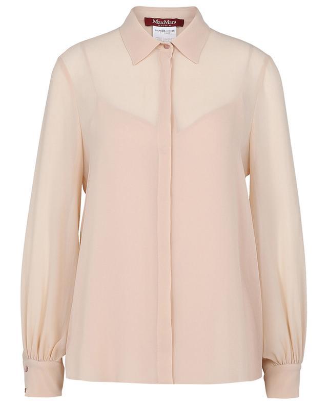 Ciurma silk chiffon shirt MAX MARA STUDIO