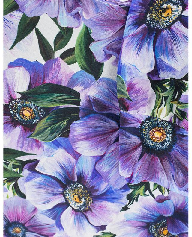 Blouse en soie imprimé fleuri DOLCE & GABBANA