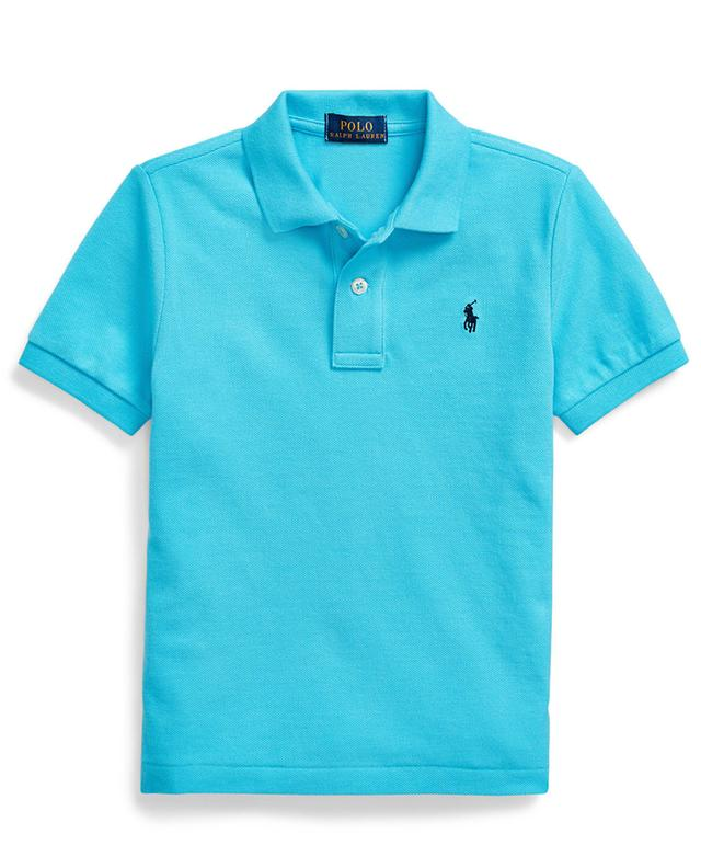 Pony embroidered cotton piqué polo shirt POLO RALPH LAUREN