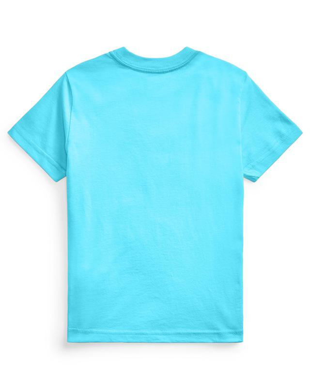 T-shirt à col rond en jersey brodé Pony POLO RALPH LAUREN