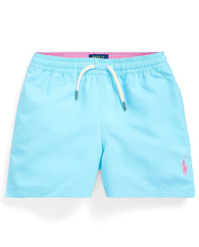 Short de bain brodé Pony Traveler POLO RALPH LAUREN