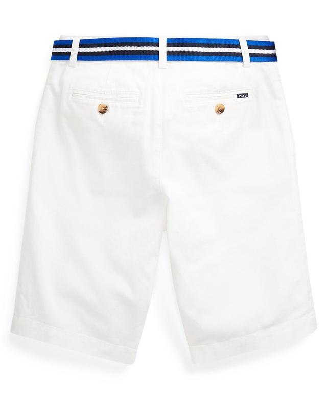 Belted slim fit chino shorts with Pony embroidery POLO RALPH LAUREN