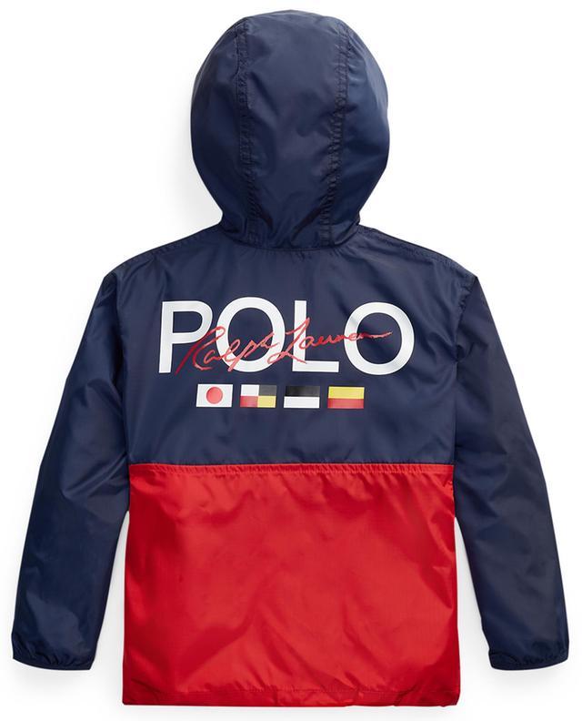 Wasserabweisende Jacke mit Print Big Pony POLO RALPH LAUREN