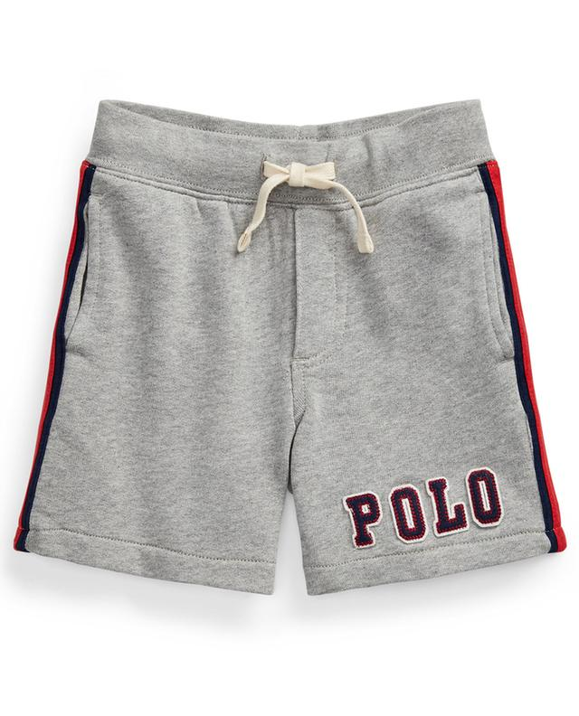 Mottled sweat shorts with side stripes and logo POLO RALPH LAUREN