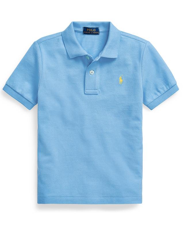 Pony embroidered cotton piqué polo shirt POLO RALPH LAUREN