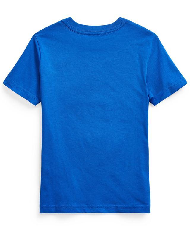Rundhals-T-Shirt aus Jersey mit Stickerei Pony POLO RALPH LAUREN