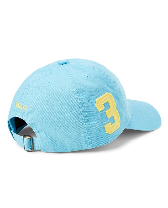 Big Pony embroidered chino cotton baseball cap POLO RALPH LAUREN