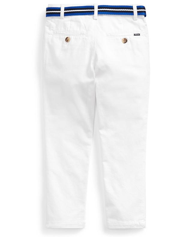 Belted skinny fit chino trousers POLO RALPH LAUREN