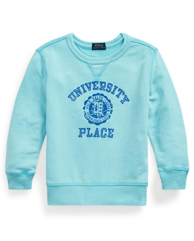 Sweat-shirt à col rond imprimé University Place POLO RALPH LAUREN