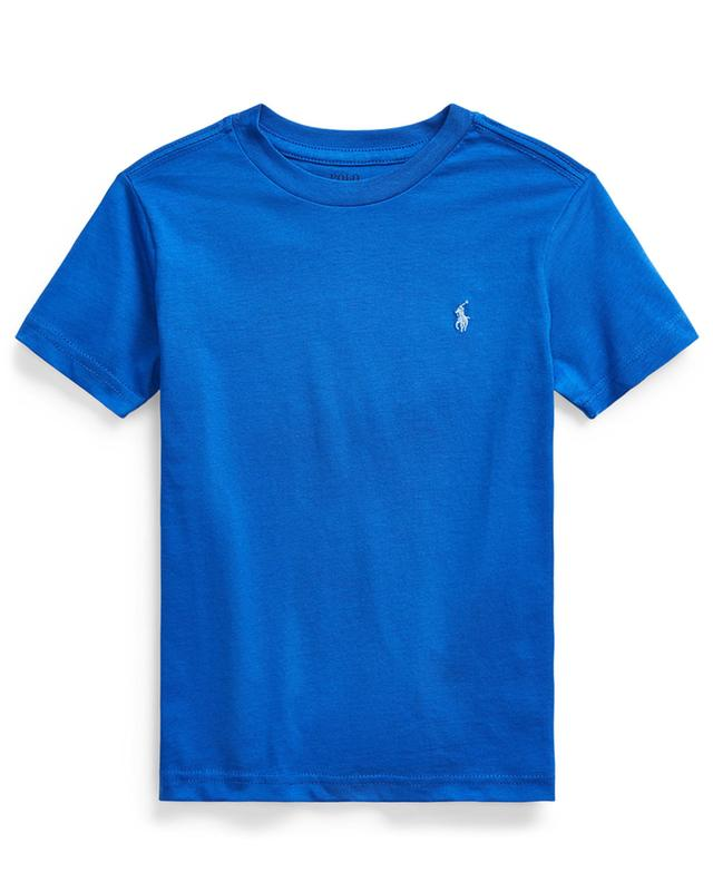 Pony embroidered jersey crew neck T-shirt POLO RALPH LAUREN