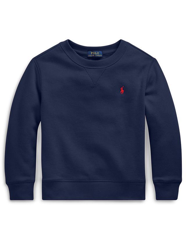 Sweat-shirt à col rond brodé logo Pony POLO RALPH LAUREN