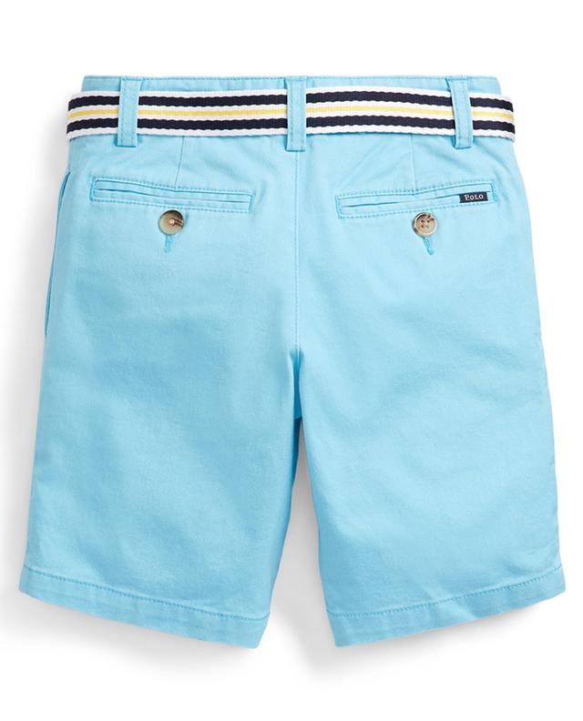 Belted Pony embroidered slim fit chino shorts POLO RALPH LAUREN