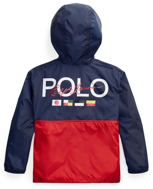 Big Pony printed water resistant jacket POLO RALPH LAUREN