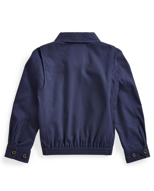 Pony embroidered water repellent twill jacket POLO RALPH LAUREN