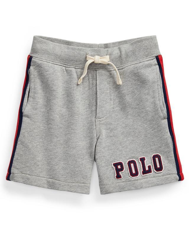Short en molleton chiné orné de rayures et du logo POLO RALPH LAUREN