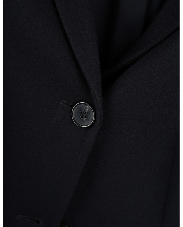 Blazer à boutonnière simple en jersey de laine WINDSOR