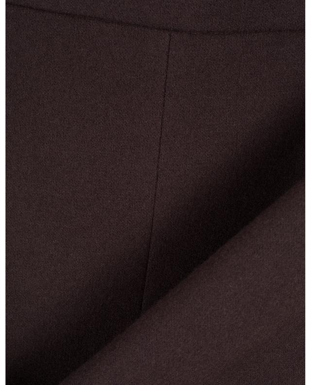 Jupe courte en laine vierge épaisse WINDSOR