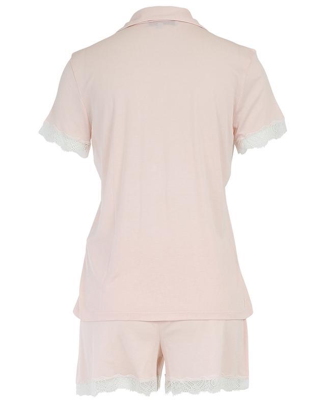 Pyjama short en modal avec dentelle Celeste LAURENCE TAVERNIER