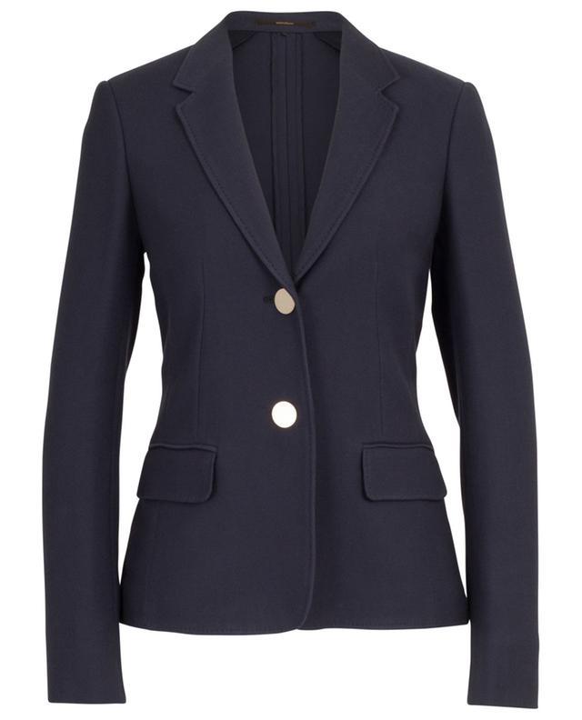 Piquéd cotton blazer WINDSOR
