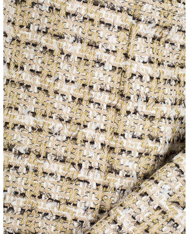Jupe plissée en tweed VICTORIA BECKHAM