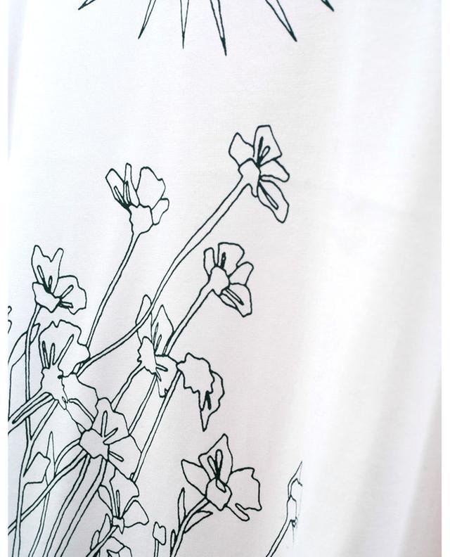 Seekers Of Tomorrow flower and sun print T-shirt STELLA MCCARTNEY