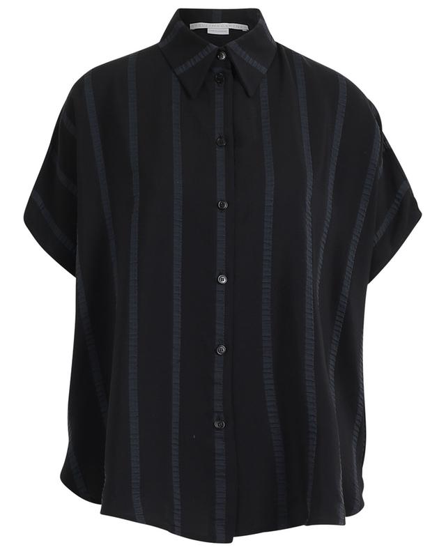 Short-sleeved silk blend shirt STELLA MCCARTNEY