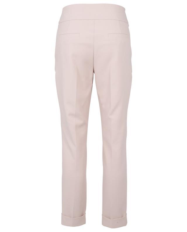 Pantalon slim à ceinture large et revers WINDSOR