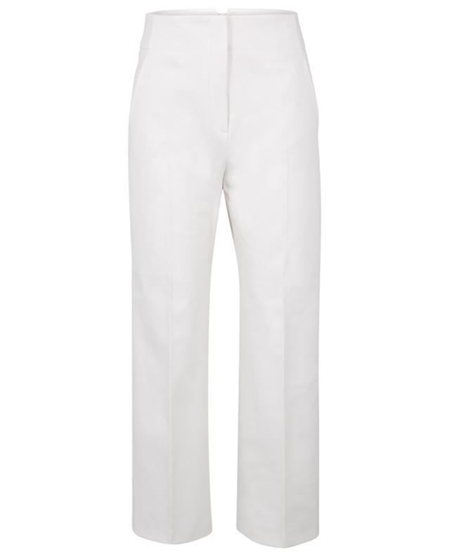 Pantalon large raccourci en gabardine WINDSOR