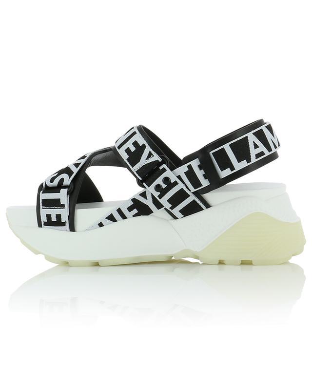 Sandales compensées à bandes logo Eclypse STELLA MCCARTNEY