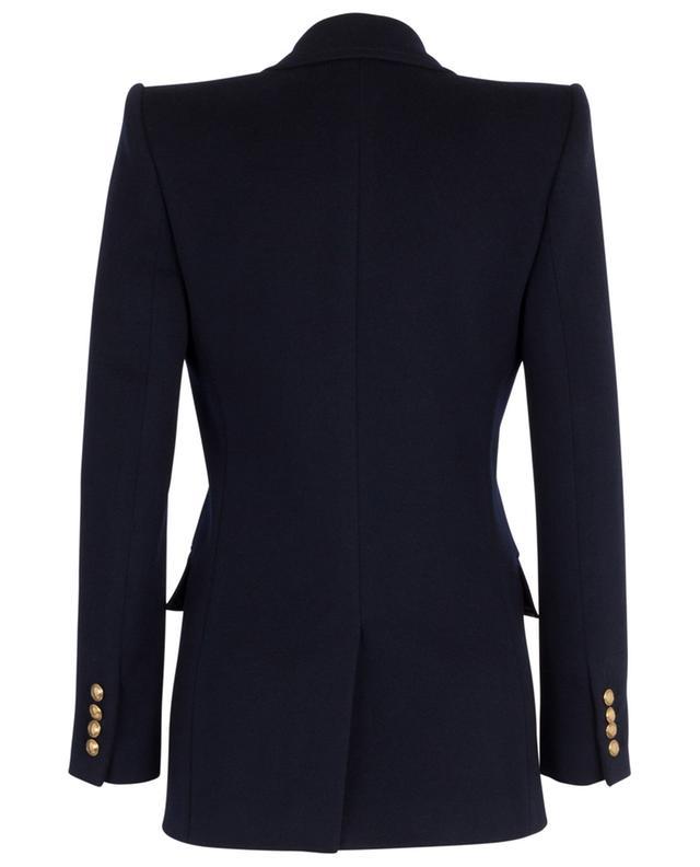 Veste légère en flanelle de cachemire à double-boutonnière SAINT LAURENT PARIS