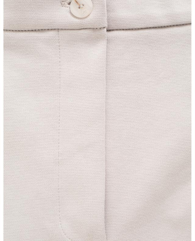 Falsco straight cotton blend trousers MAX MARA LEISURE