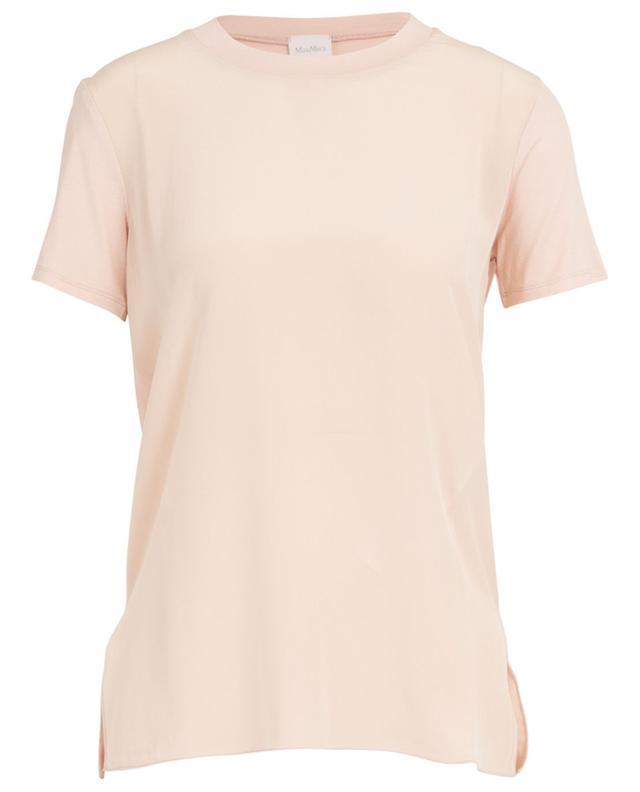 T-shirt aus Seide und Viskose Gene MAX MARA LEISURE