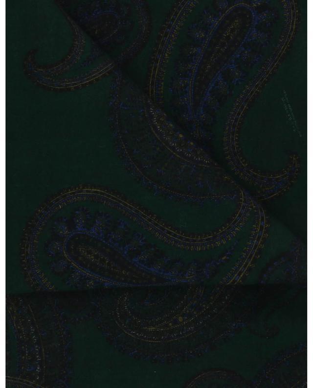 Grand carré en laine motif bandana Paisley SAINT LAURENT PARIS