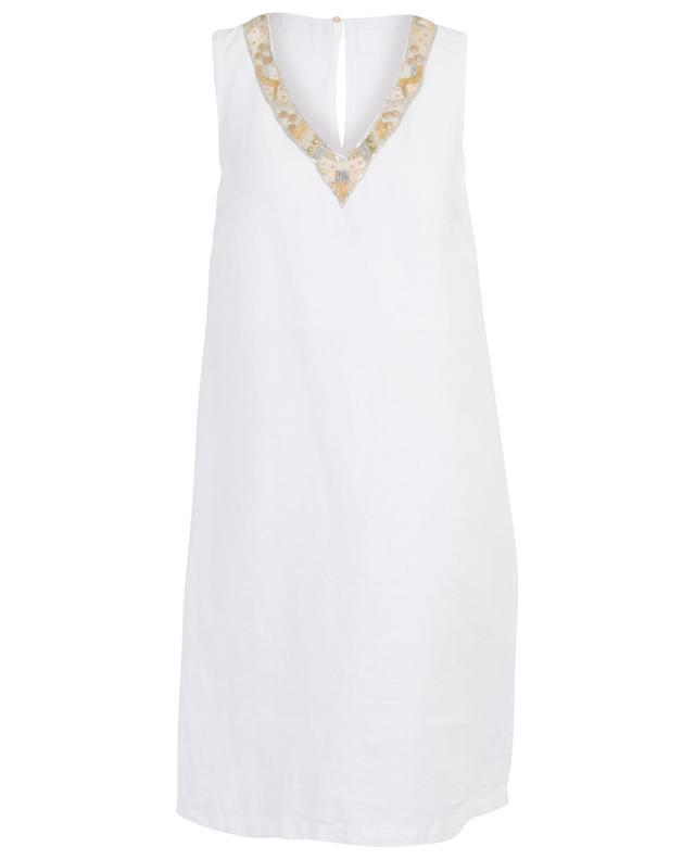 Mid-length linen dress 120% LINO